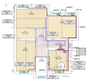 план отопления 2